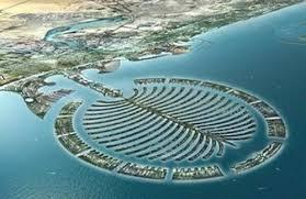 「杜拜海岸形狀如棕櫚樹的沙島」的圖片搜尋結果