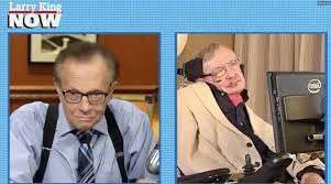 「stephen hawking and larry king」的圖片搜尋結果
