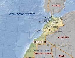 「ouarzazate morocco map」的圖片搜尋結果