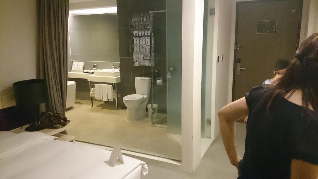浴室 窗簾
