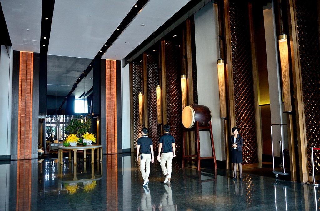 晶英酒店 大廳