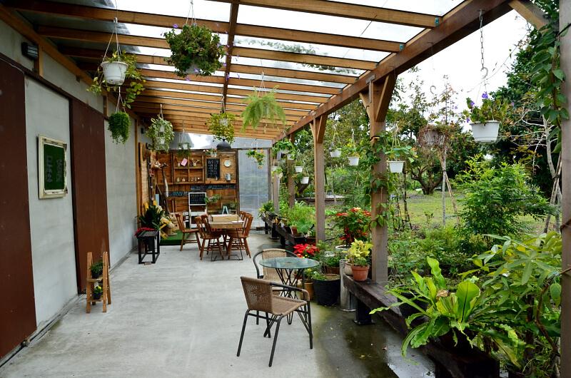 宜蘭 冬山 屋頂庭園咖啡