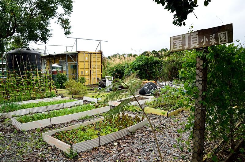 宜蘭 冬山 屋頂庭園咖啡 屋頂小菜園