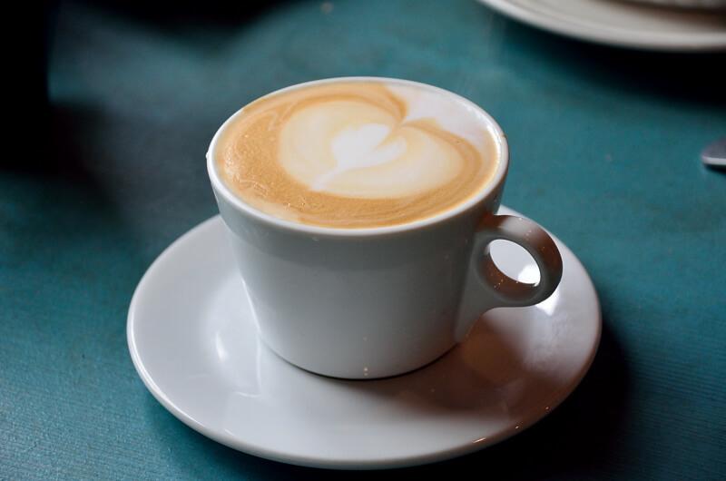 宜蘭 冬山 屋頂庭園咖啡 榛果拿鐵