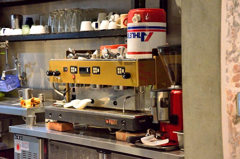 宜蘭 冬山 屋頂庭園咖啡 營業用咖啡機