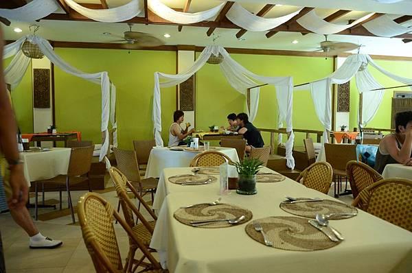 飯店餐廳..一樣很普通的早餐