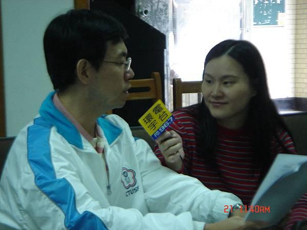 環宇電台採訪黃煜老師