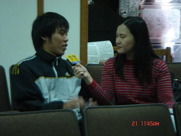 環宇電台採訪吳同學
