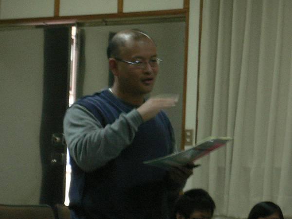 邱文信老師發問