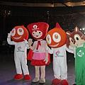 全運會吉祥物聖火寶寶、風兒寶寶和松鼠寶寶一眼相見歡