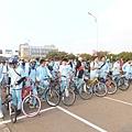 光復中學的學生車隊.JPG