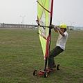 陸上風浪板帆車