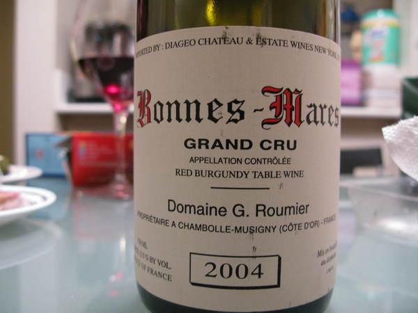 Bonnes Mares, G. Roumier喬治路米耶的朋瑪