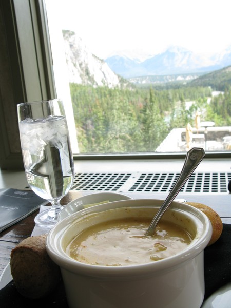 Fairmont Banff Hotel Springs Hotel 海鮮濃湯