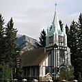 班夫鎮上的教堂