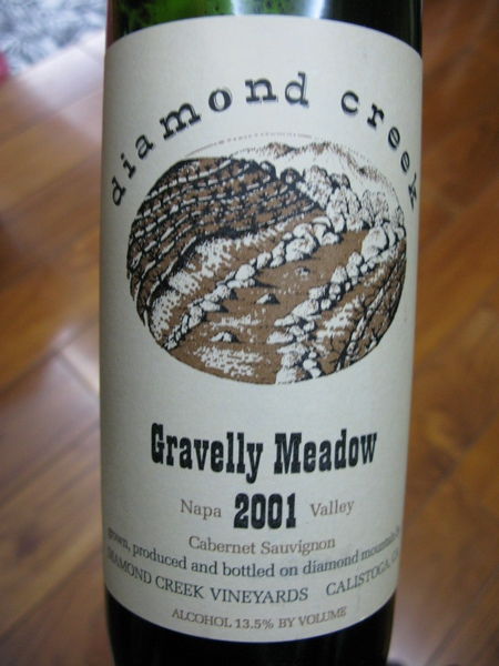 2001 Diamond Creek, Gravelly Meadow