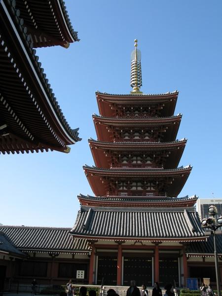 淺草雷門寺的塔