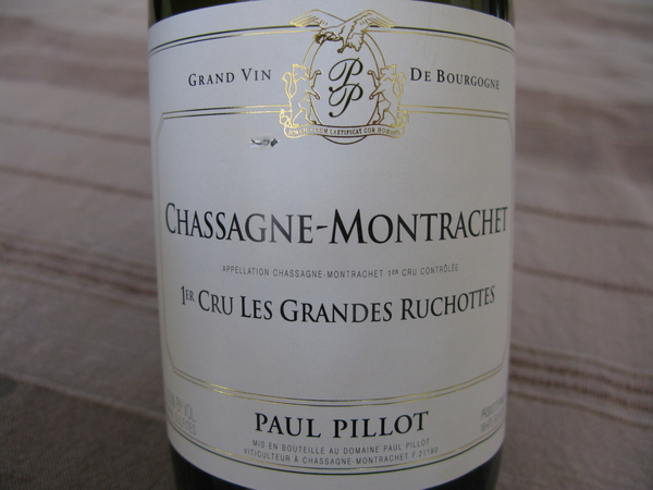 Chassagne-Montrachet, Paul Pillot