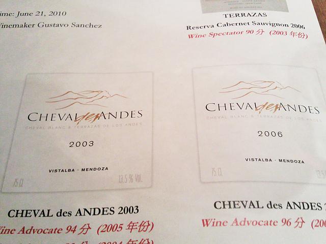 Cheval des Andes 2003/6