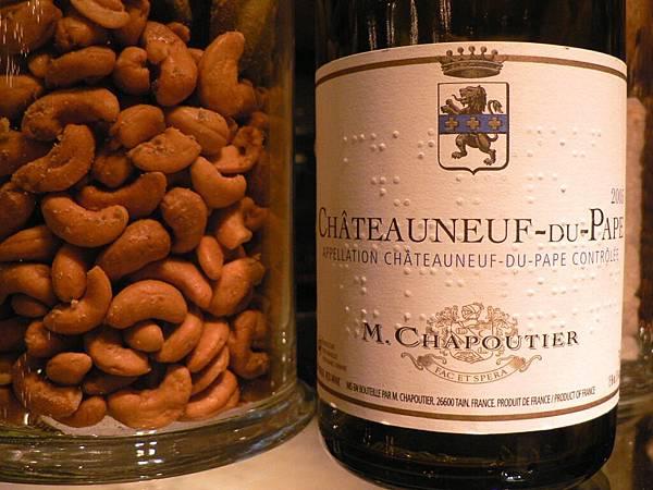 M.Chapoutier,CNDP, Organic Selection, 2005