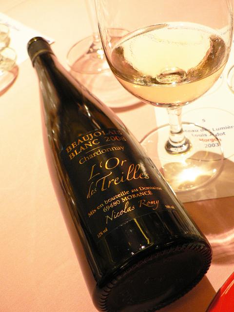 Domaine Nicolas Romy Beaujolais Blanc L'Or des Treilles 2008