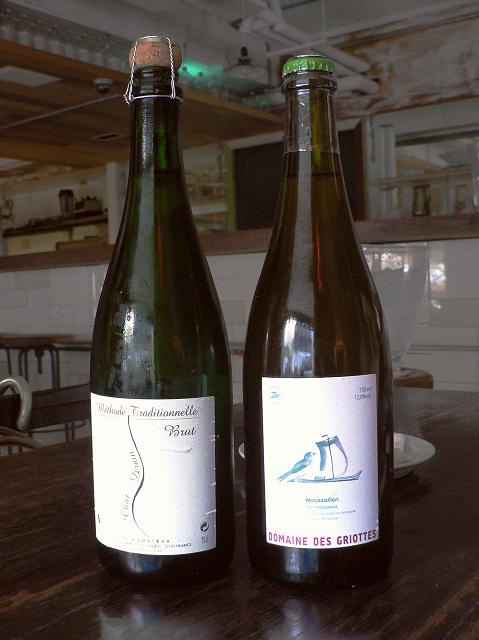 Domaine des Griottes, Moussaillon, vin mousseux