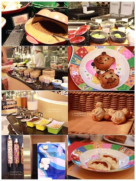好萊塢酒店米奇魔術餐廳2