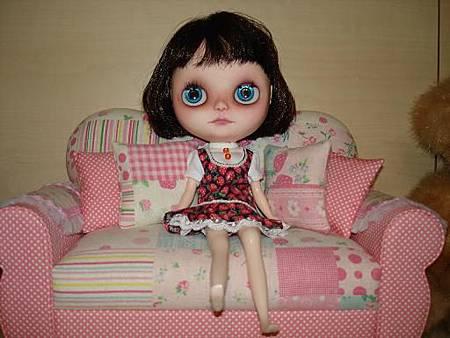 miki訂製手工娃用沙發