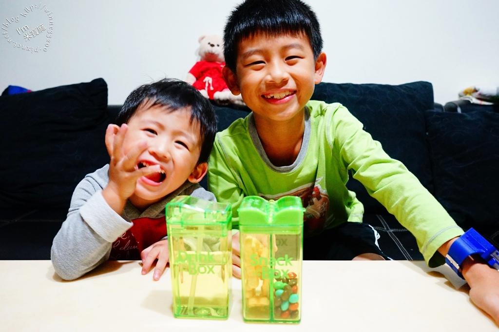 加拿大Drink in the box零食攜帶盒 吸管杯_20