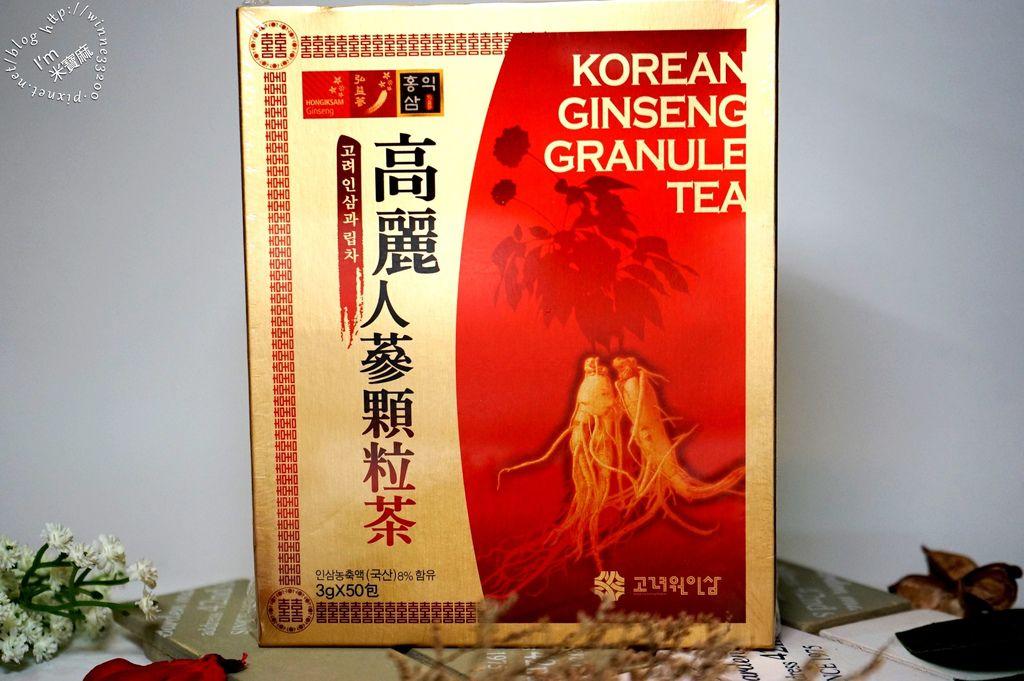 高麗人蔘顆粒茶_1