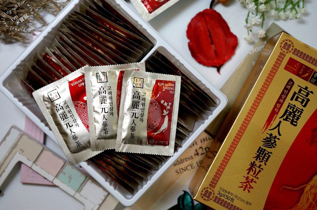 高麗人蔘顆粒茶_7