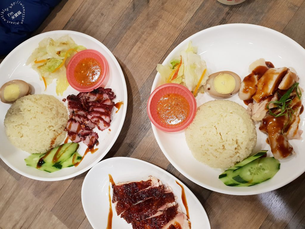 小檳城食堂 燒雞飯 海南雞飯 咖哩叻沙麵 (20)