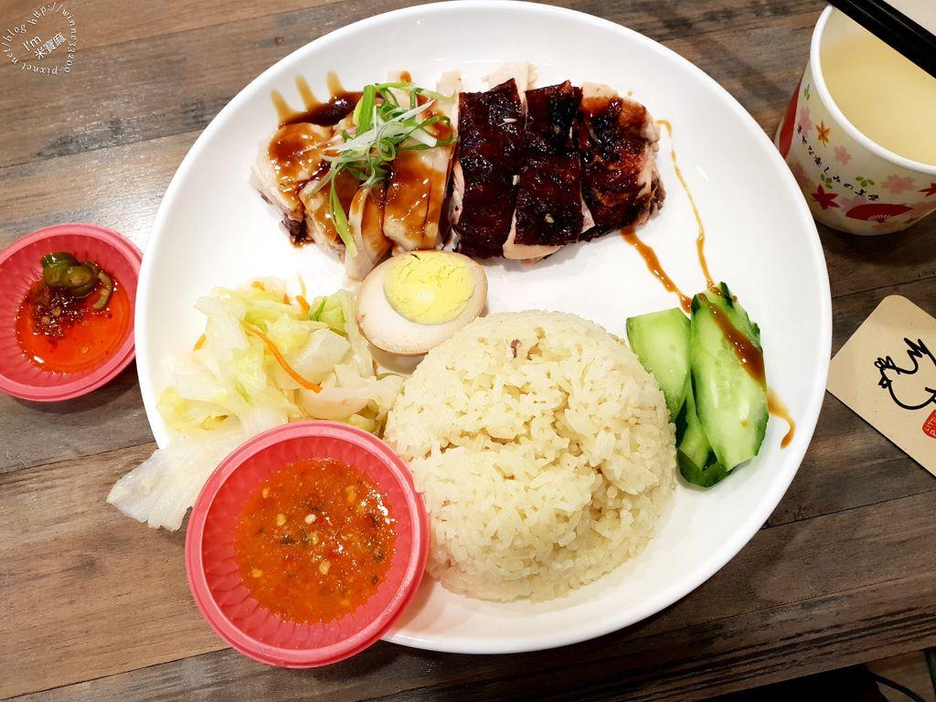 小檳城食堂 燒雞飯 海南雞飯 咖哩叻沙麵 (2)