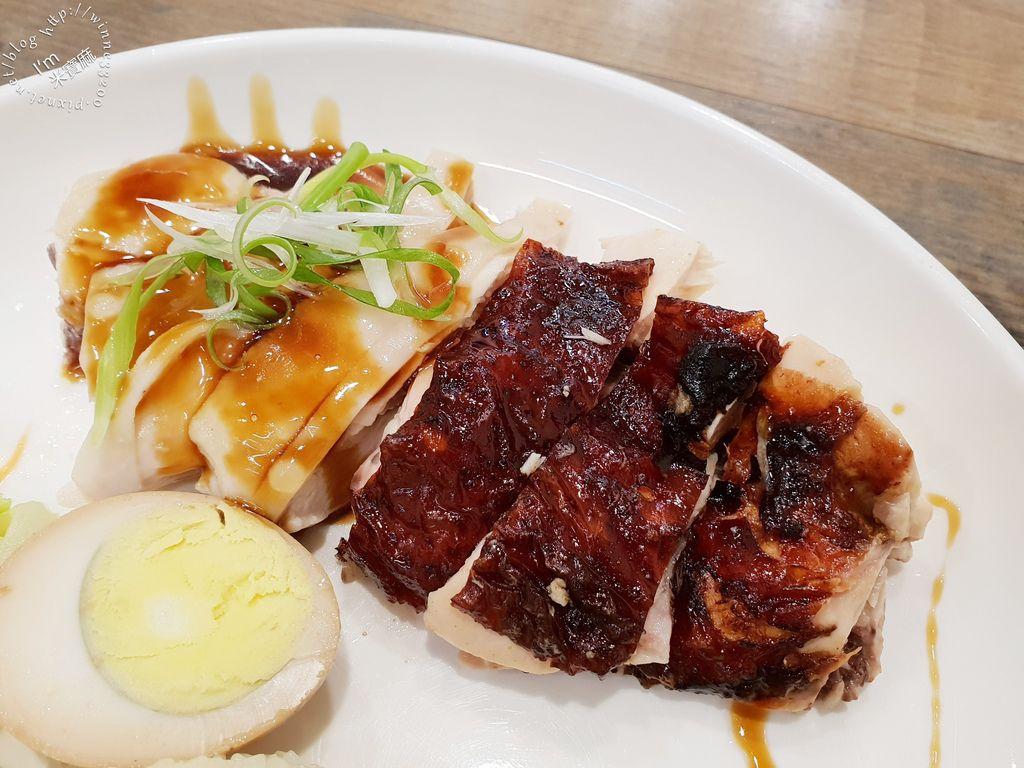 小檳城食堂 燒雞飯 海南雞飯 咖哩叻沙麵 (3)