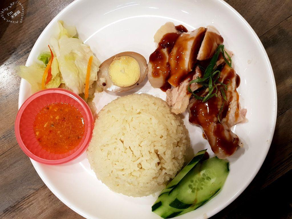 小檳城食堂 燒雞飯 海南雞飯 咖哩叻沙麵 (16)