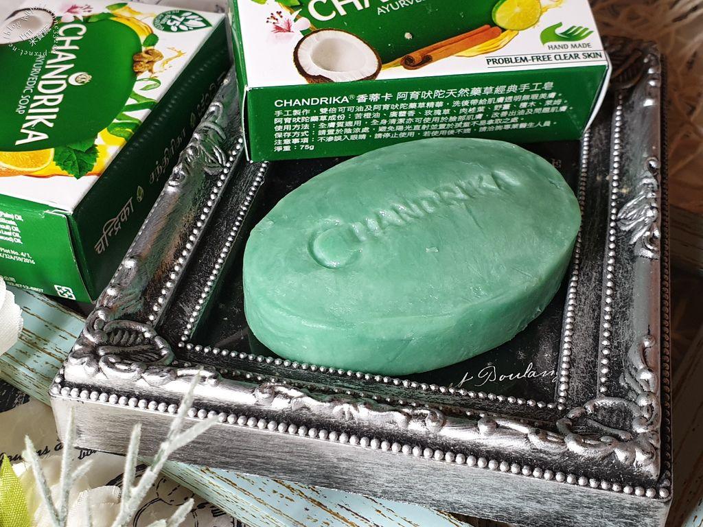 CHANDRIKA香蒂卡阿育吠陀藥草手工皂 (8)