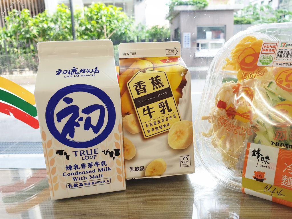 鋒味冷麵+初鹿牧場煉乳麥芽牛乳 (2)