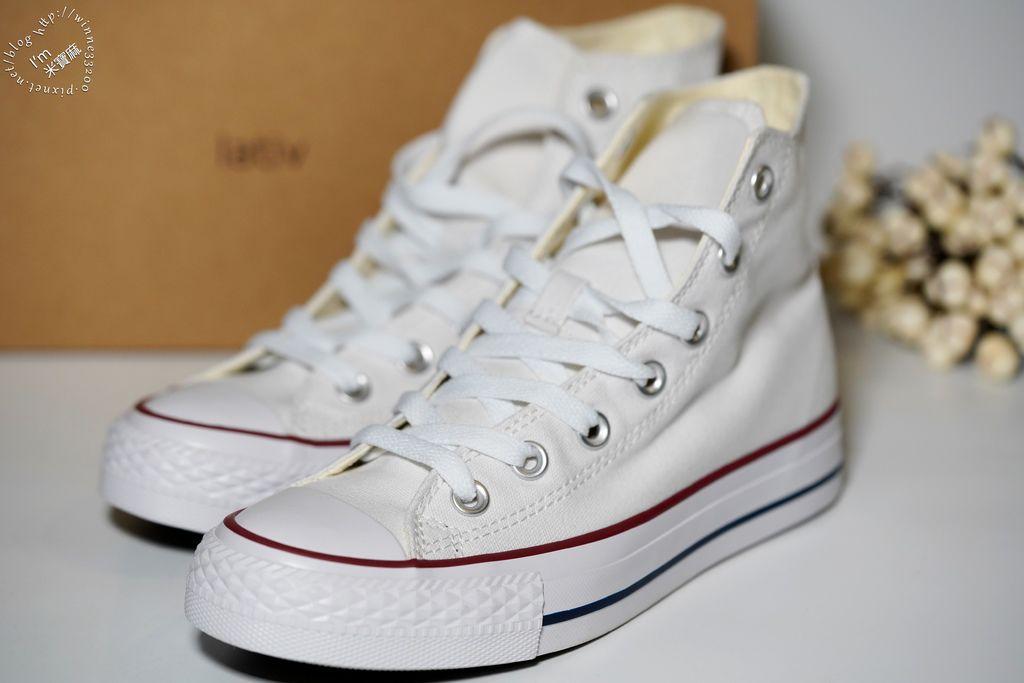 lativ棉質高筒帆布休閒鞋 (3)