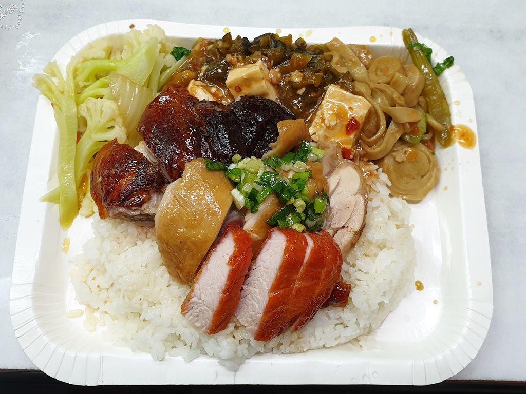 香港陳記燒腊快餐店 永和便當推薦 (9)