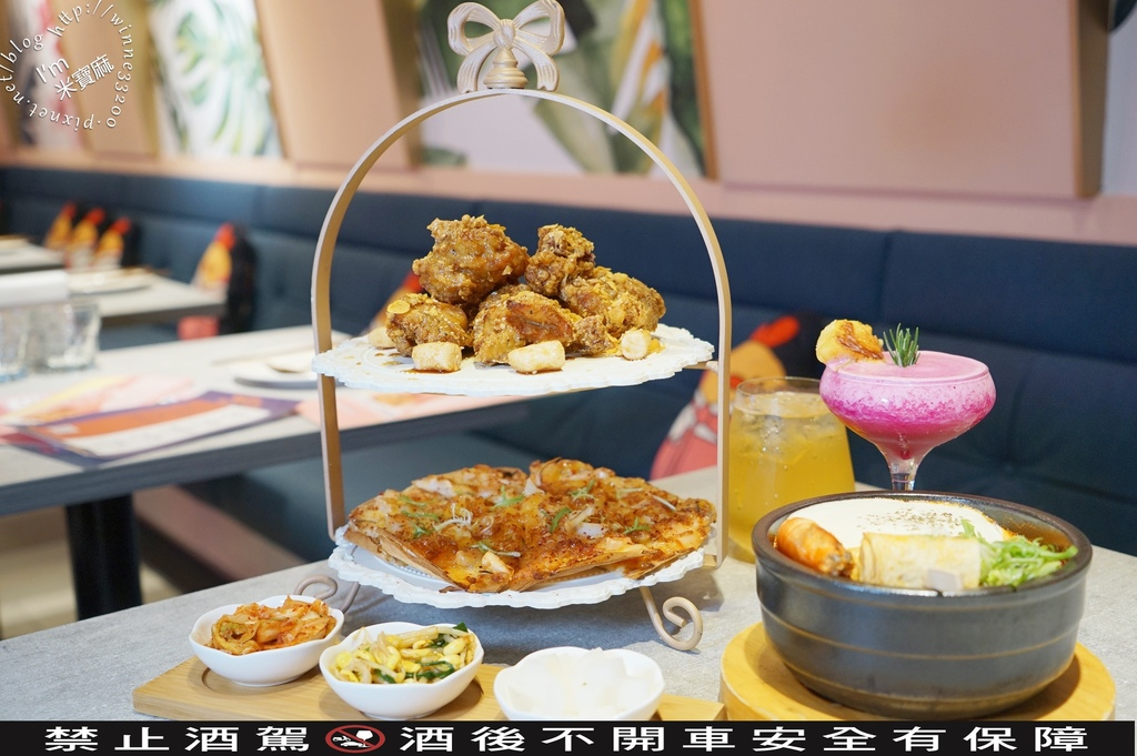 饗韓 韓國炸雞┃忠孝敦化韓式料理。台北大安 馬卡龍色系網美餐廳。道地韓味來這吃