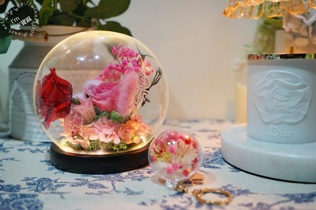 婕琳花藝 永生花┃台中花藝計設布置。開幕送禮、婚禮布置、家中擺飾都適合