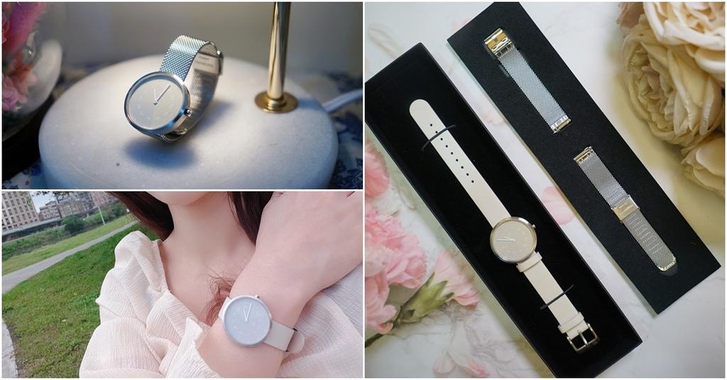 WABI SABI OFFWHITE 34MM┃MAVEN時尚腕錶。免費刻名/送貨/退換貨。藍寶石防花鏡面、瑞士石英機芯、兩年保固