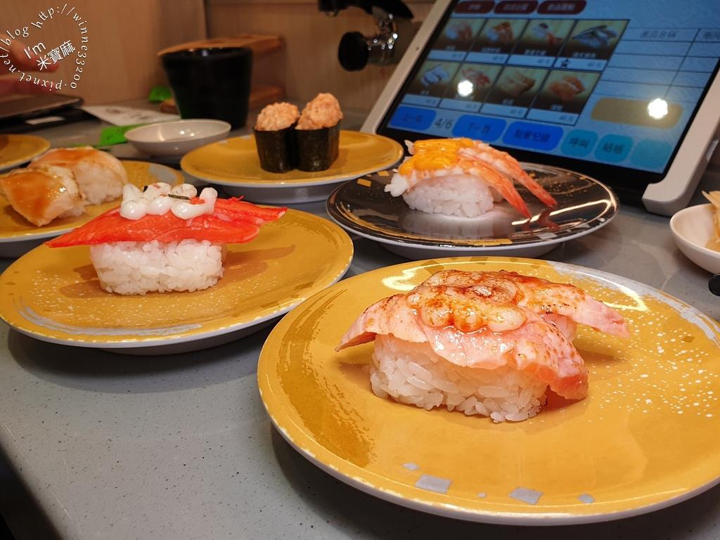 一条通壽司丼飯炸物┃永和美食。日本原裝新幹線、PAD點餐。超過80種品項選擇