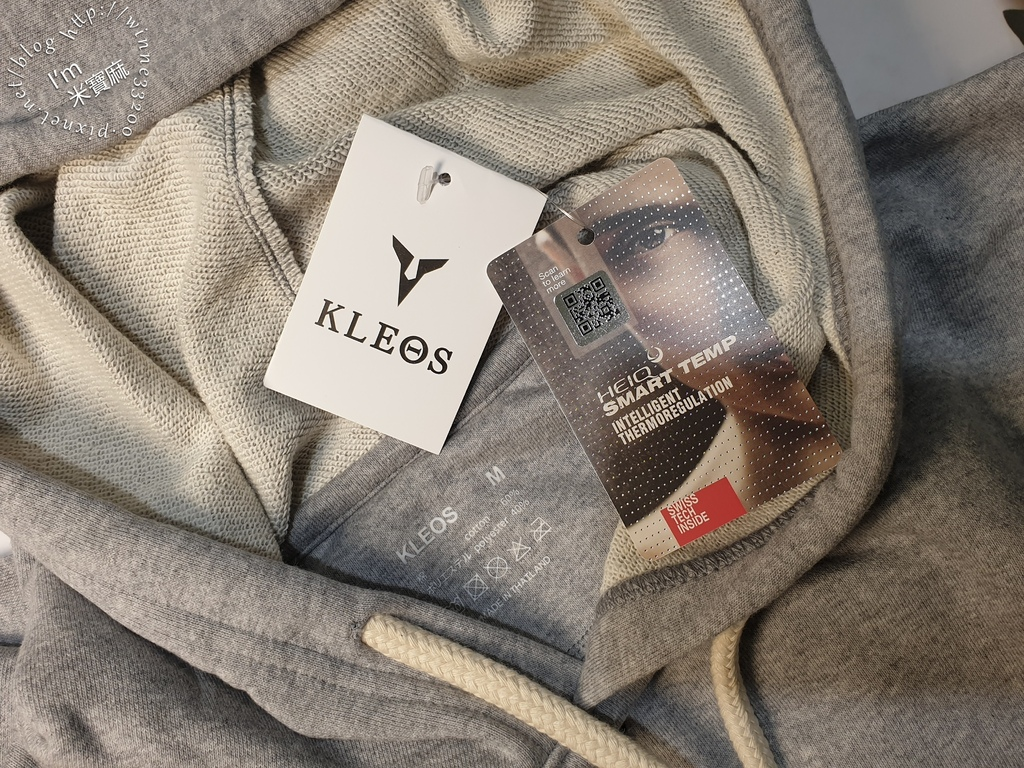 KLEOS機能服飾┃粗繩短版連帽T恤+7分塑腿性感壓力褲。運動有型又好看、吸汗有彈性