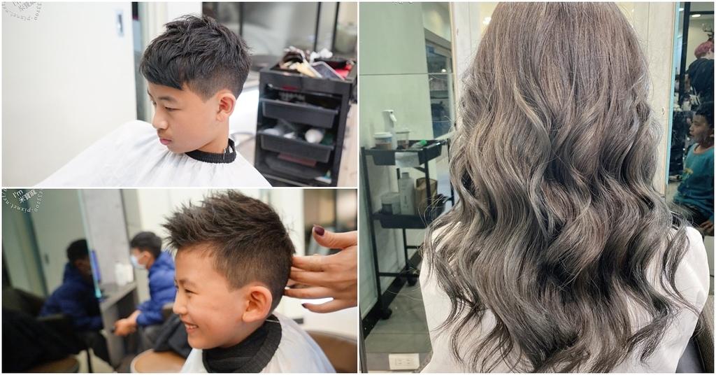 LUSSO hair salon┃師大染髮護髮推薦。精靈綠霧灰更有質感。光線染各角度風格都有美感