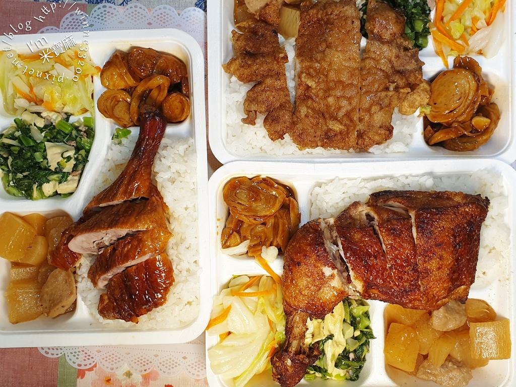 金廚北平烤鴨店┃師大夜市美食。六種口味便當選擇。排骨飯、烤鴨飯、雞腿飯