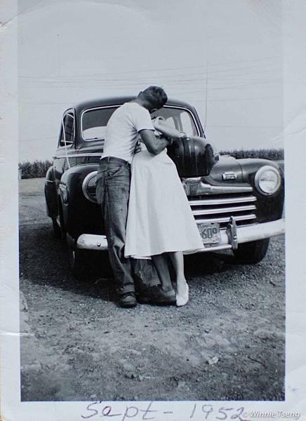 60年前的外公與外婆