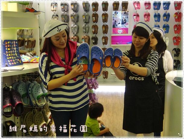 Crocs卡駱馳品牌資深經理Tracy介紹2013春夏鞋款