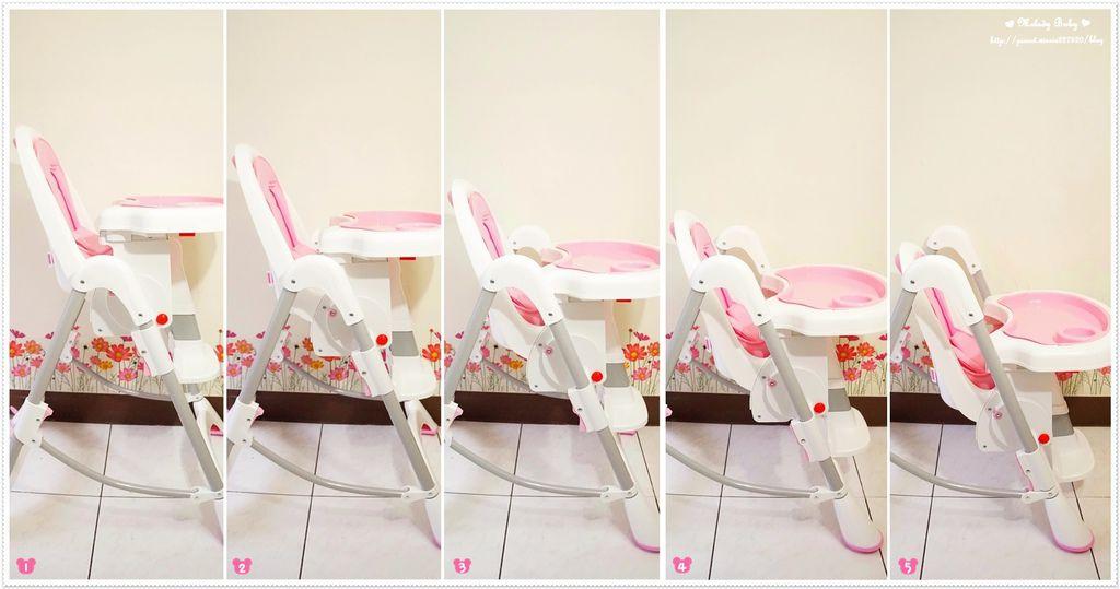 myheart折疊式兒童安全餐椅 (3)