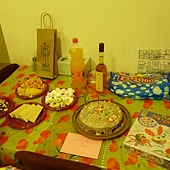 生日禮物桌